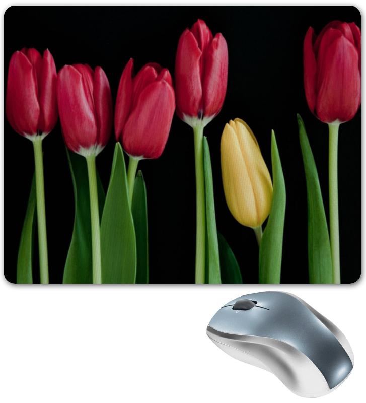 Коврик для мышки Printio Тюльпаны