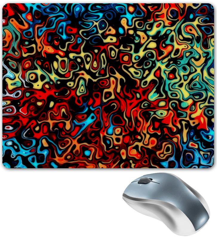 Коврик для мышки Printio Пятна красок коврик для мышки printio битва красок