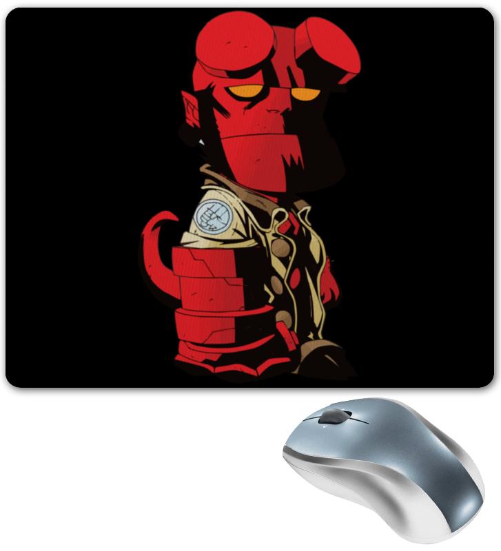 Коврик для мышки Printio Hellboy / хеллбой hellboy giant right hand anung un rama right hand of doom arms hellboy animated cosplay weapon resin collectible model toy w257
