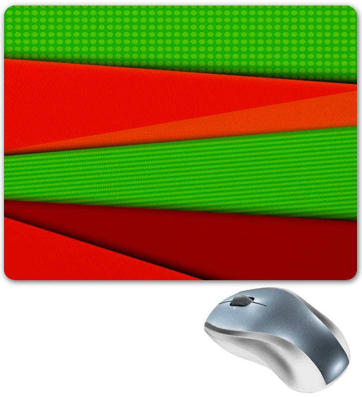 Коврик для мышки Printio Цветные полосы юбка карандаш printio цветные полосы