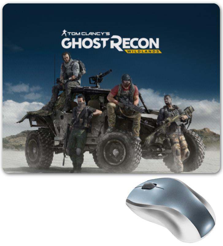 Коврик для мышки Printio Tom clancys ghost recon wildlands tom clancy s ghost recon wildlands gold edition ps4