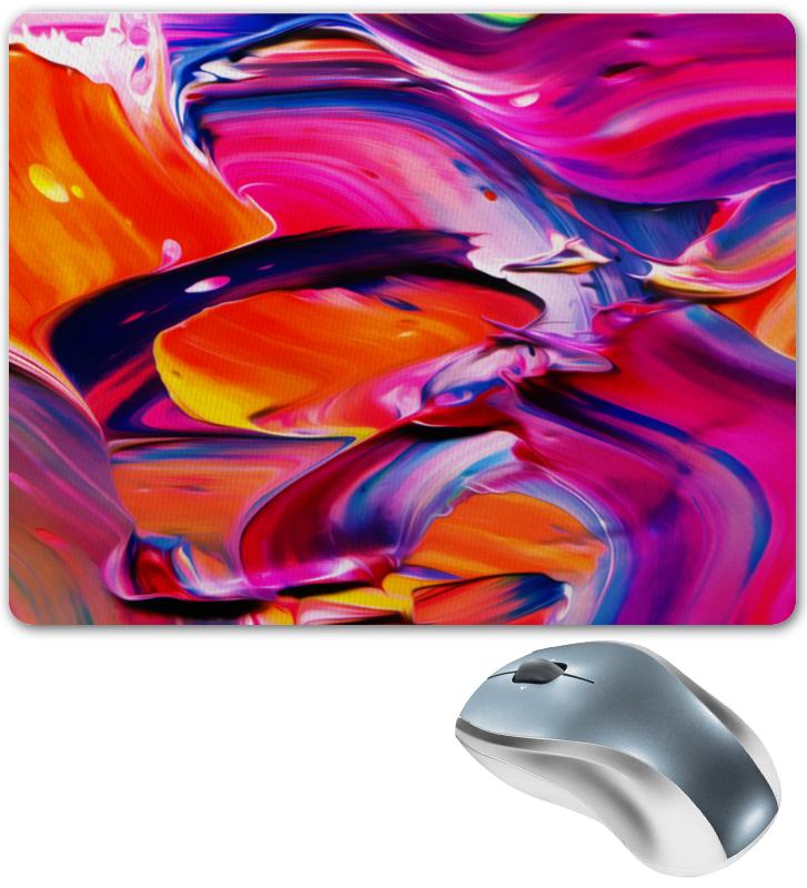 Коврик для мышки Printio Узор красками цена