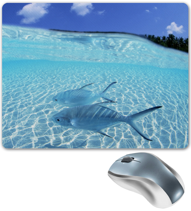 Коврик для мышки Printio Морская тематика