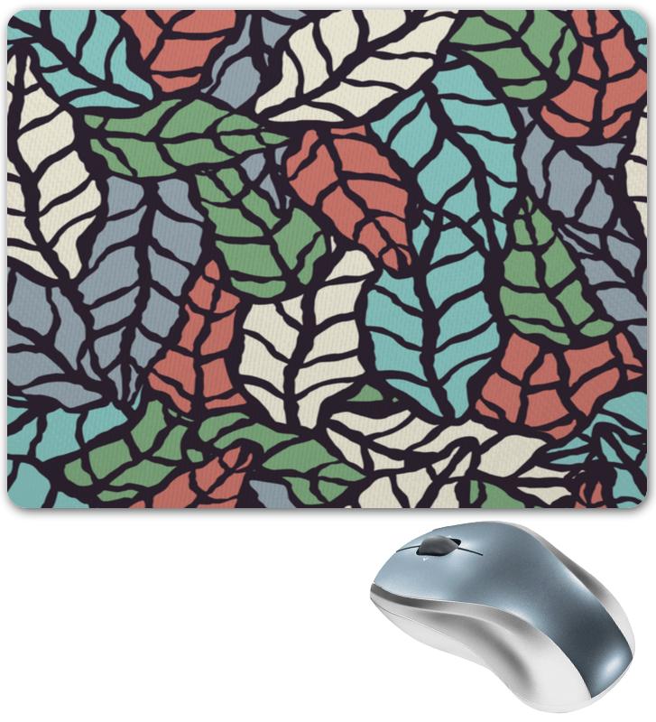 Коврик для мышки Printio Узор листьев фильтр для листьев поливент в самаре