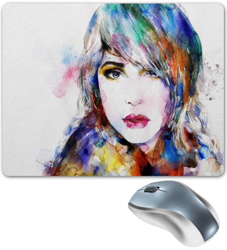 Коврик для мышки Printio Портрет красками цена