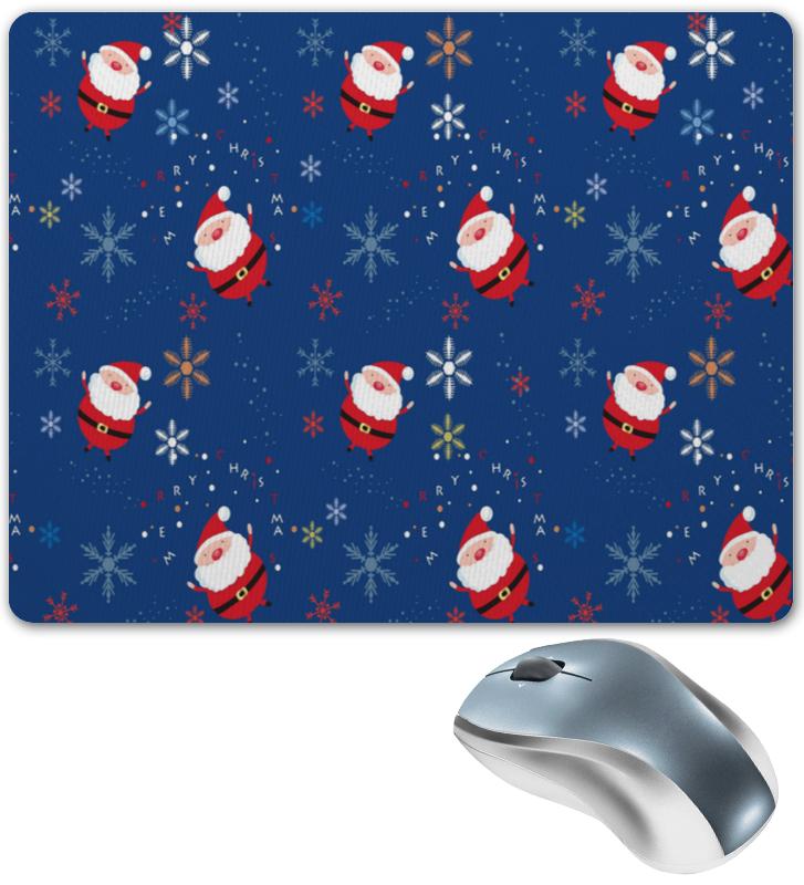 Коврик для мышки Printio Деды морозы грузинцева о снеговики деды морозы