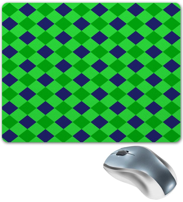 Коврик для мышки Printio Сине-зеленые квадраты