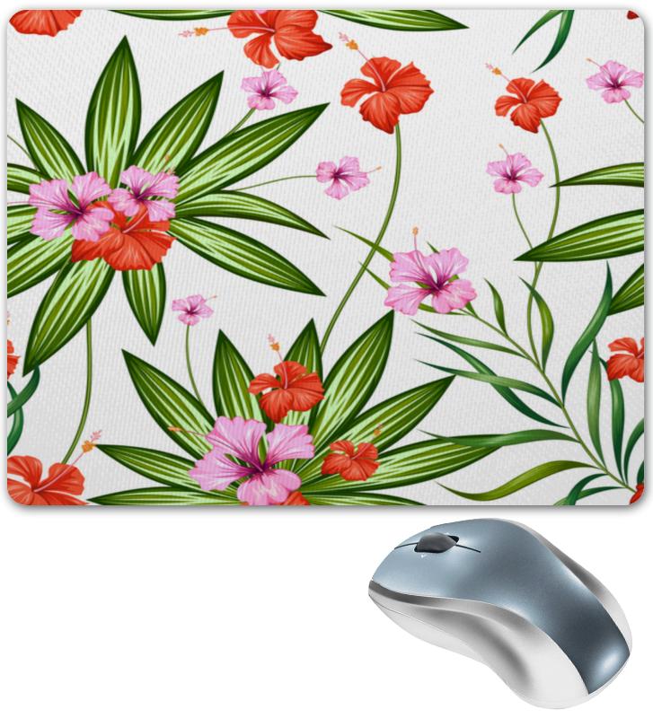 Коврик для мышки Printio Тропические цветы