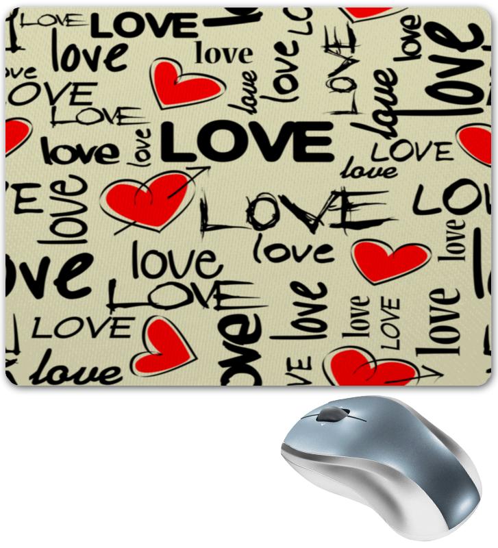 Коврик для мышки Printio Любовь цена