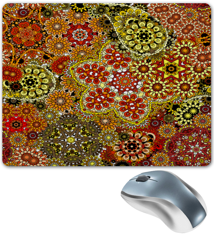 Коврик для мышки Printio Цветочный ковер коврик эврика ковер n4 98760