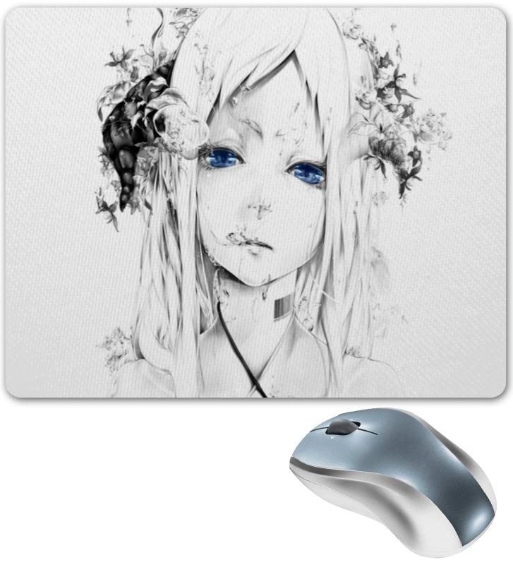 Коврик для мышки Printio Аниме девушка цены