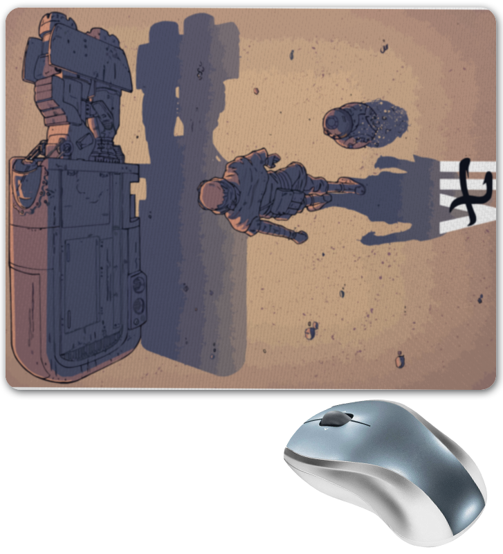 Коврик для мышки Printio Star wars / akira ray's speeder/ спидер рэй