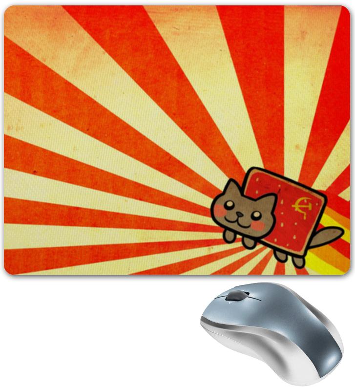 Коврик для мышки Printio Кошка в лучах ссср коврик для мышки printio серая кошка