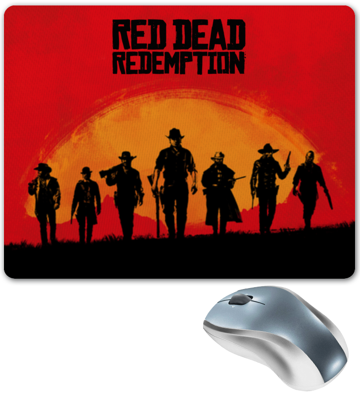 Коврик для мышки Printio Red dead redemption game сумка printio red dead redemtion game