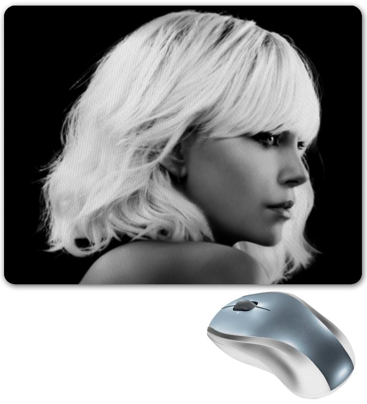 Коврик для мышки Printio Взрывная блондинка
