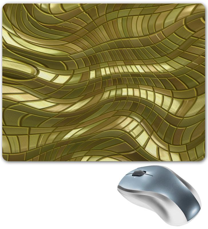 Коврик для мышки Printio Золотые полосы