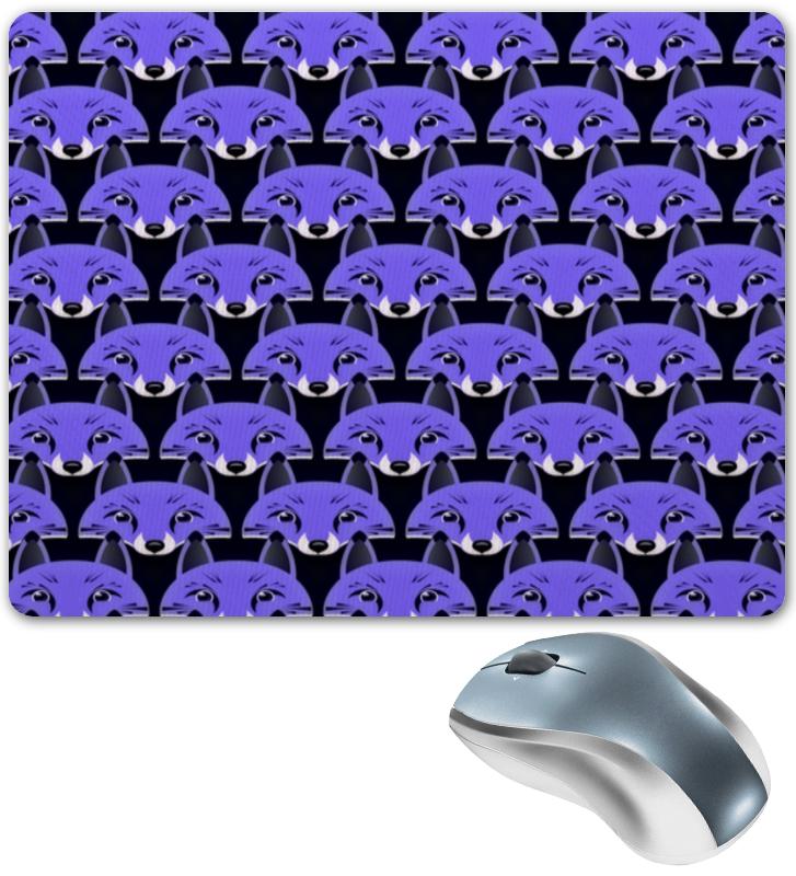Коврик для мышки Printio Лисички патттерн