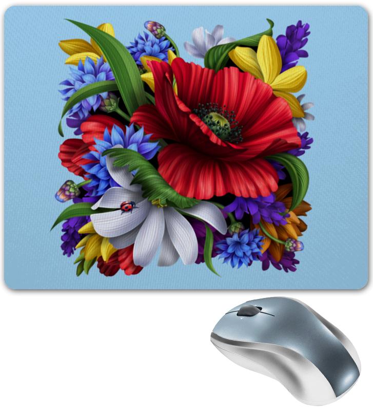 Коврик для мышки Printio Цветы куртка голубого цвета brums ут 00008775