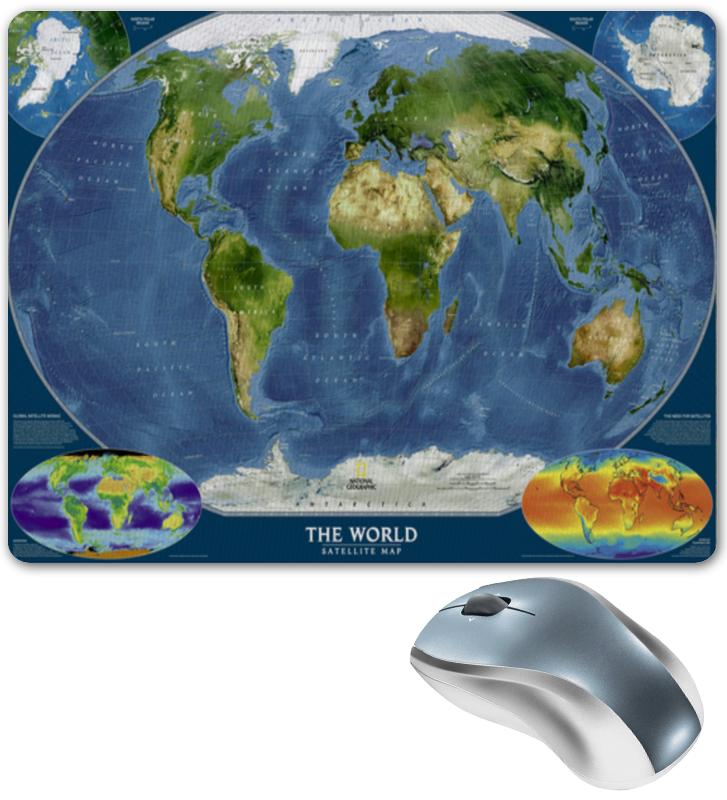 купить Коврик для мышки Printio Карта мира недорого