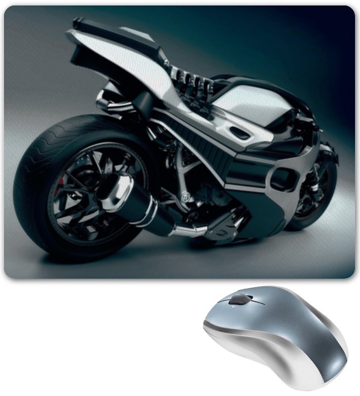 Коврик для мышки Printio Мотоцикл мотоцикл хонду f4в спб