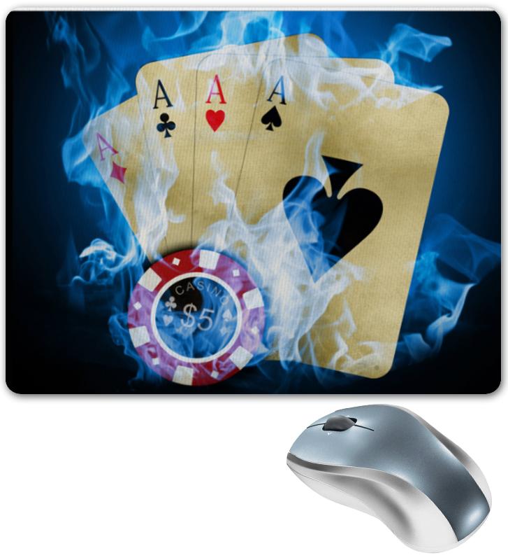 Коврик для мышки Printio Покерный скунмейкер а ваш лучший покерный друг