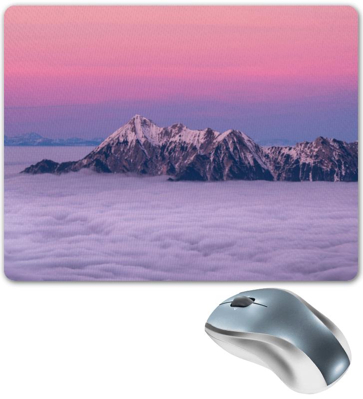 Коврик для мышки Printio Горы и облака коврик для мышки printio горы у берега