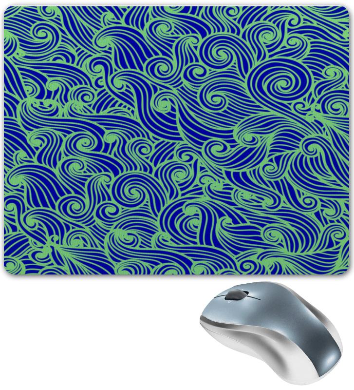 Коврик для мышки Printio Морская волна браслет из прессованной бирюзы и хрусталя морская волна page 2