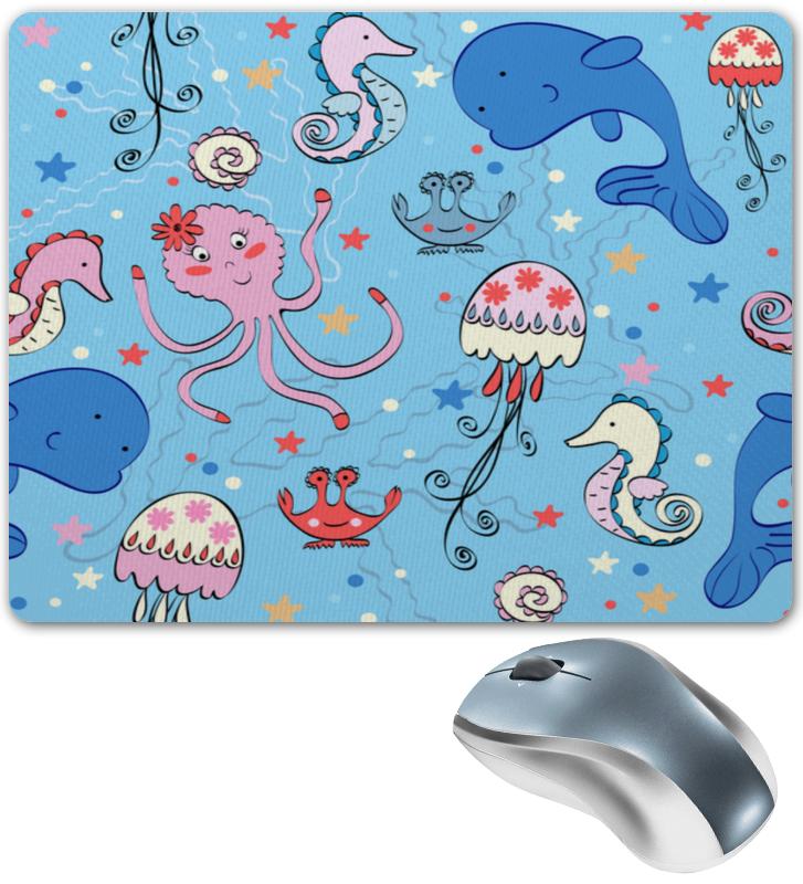 Коврик для мышки Printio Подводный мир шрамы 3d blu ray