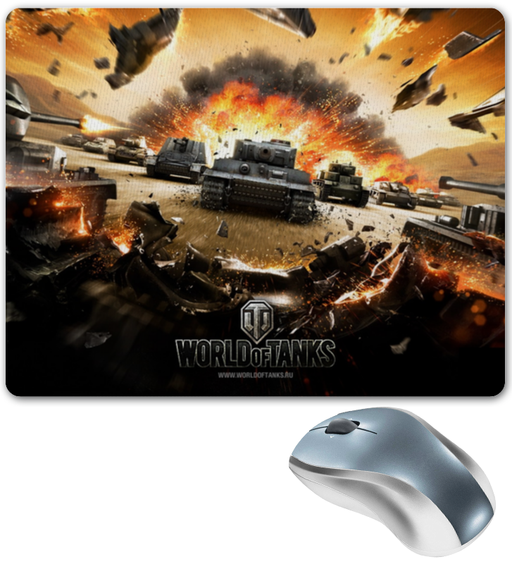 коврик для мышки printio нарядные котики Коврик для мышки Printio Коврик для мышки world of tanks