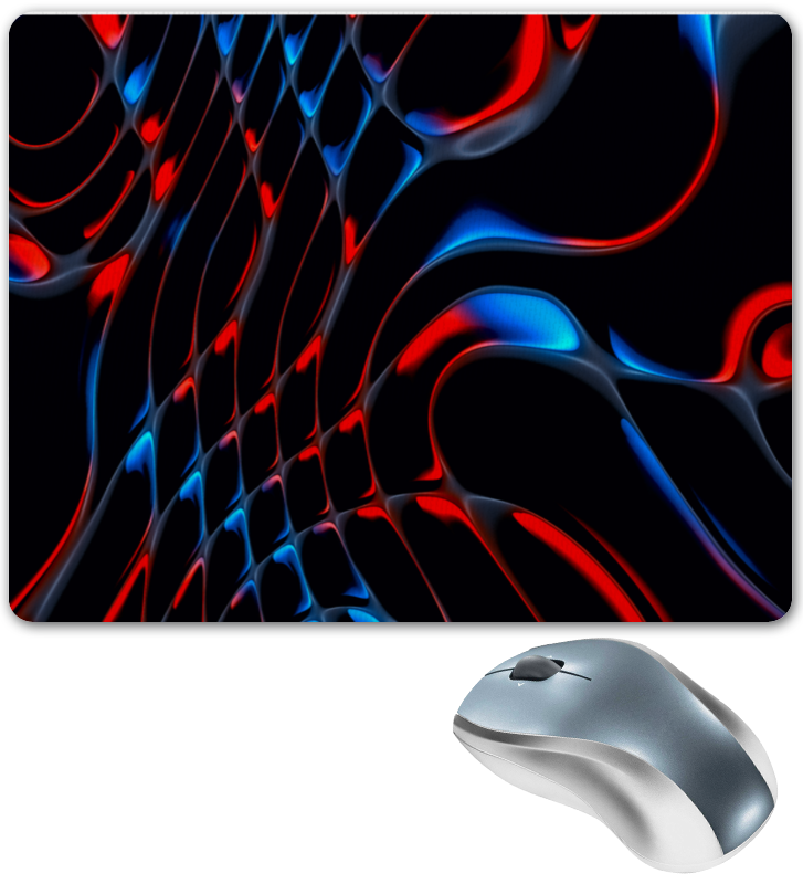 Printio Красно-синие полосы коврик для мышки printio синие краски