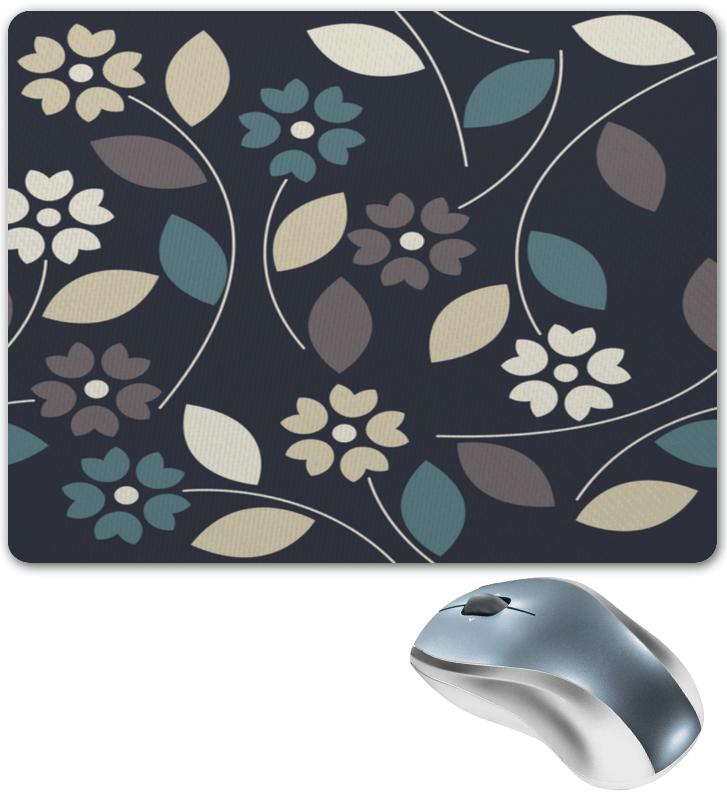 Printio Узор цветочный коврик для мышки круглый printio цветочный узор