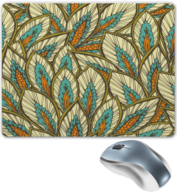 Коврик для мышки Printio Узорные листы коврик для мышки круглый printio узорные листы