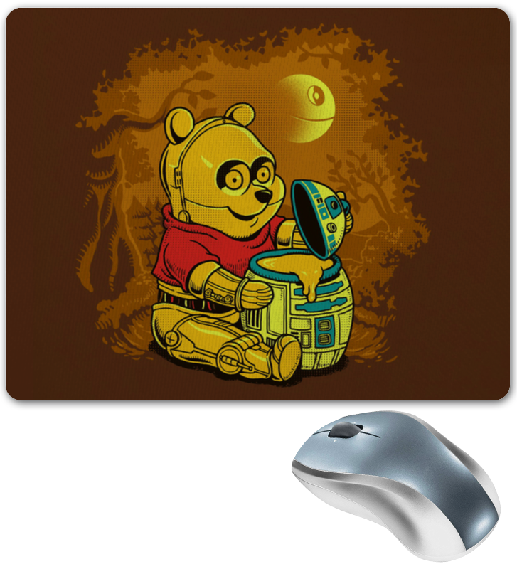 Коврик для мышки Printio Винни пух терминатор ra tuo rantopad h1x мода игра тканая ткань резиновый коврик для мыши труба терминатор