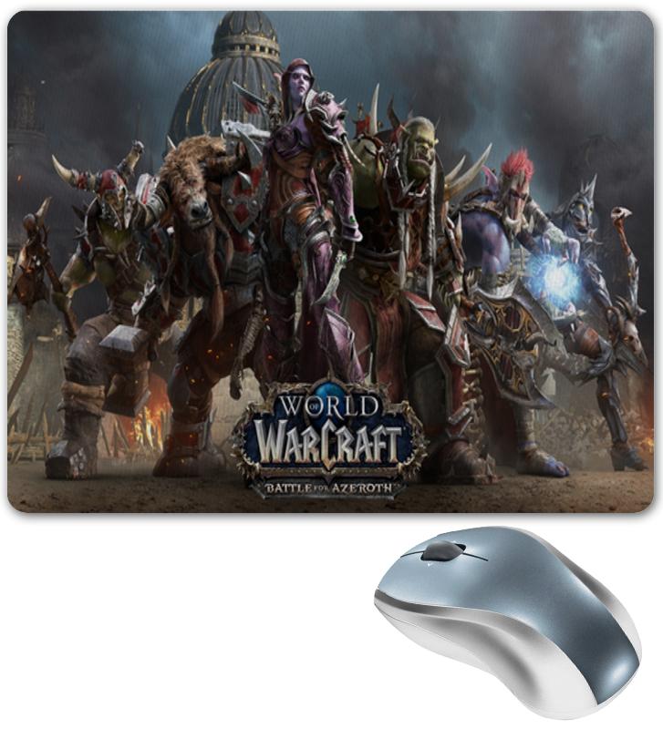 Коврик для мышки Printio World of warcraft battle for azeroth battle bunny