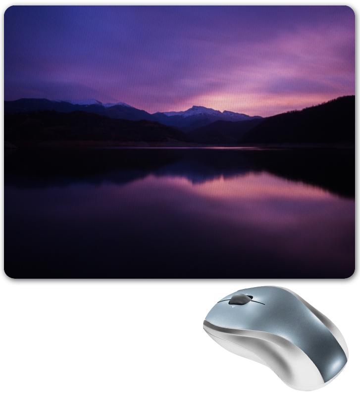Коврик для мышки Printio Фиолетовый пейзаж