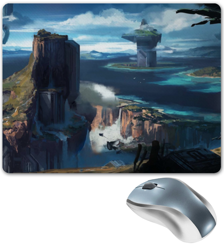 Коврик для мышки Printio Halo 4 коврик для мышки printio halo master chief хэйло мастер чиф