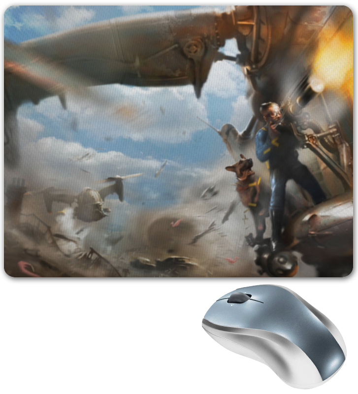 Коврик для мышки Printio Fallout 4 цена и фото