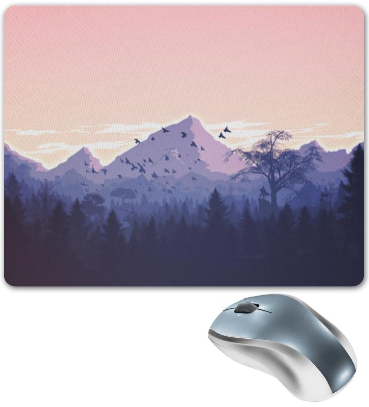 Printio Горный пейзаж с лесом. коврик для мышки printio горный пейзаж