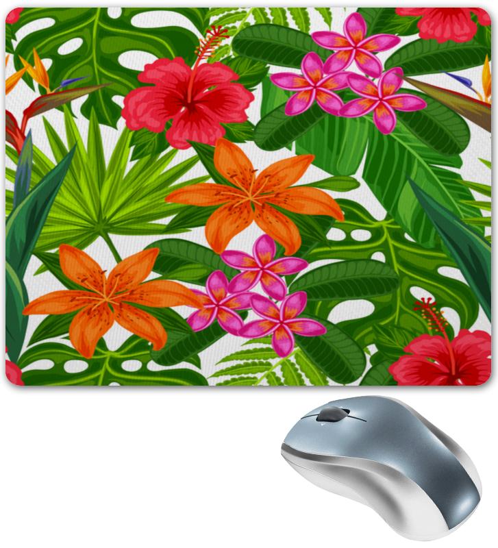 Коврик для мышки Printio Тропики тропики релакс раскраска