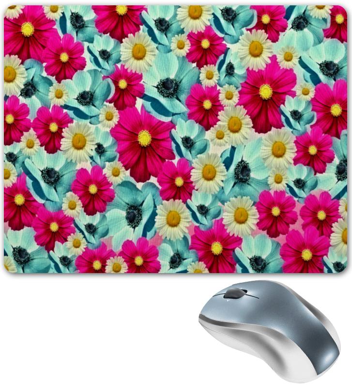 Коврик для мышки Printio Цветочный сад коврик для мышек defender gp 800 viking 50080