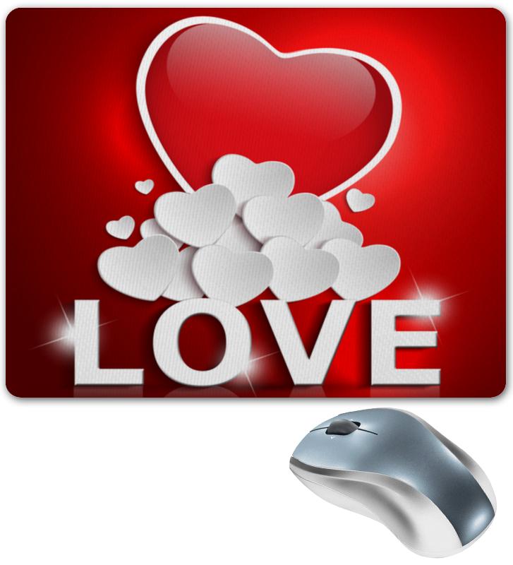 Коврик для мышки Printio Сердца