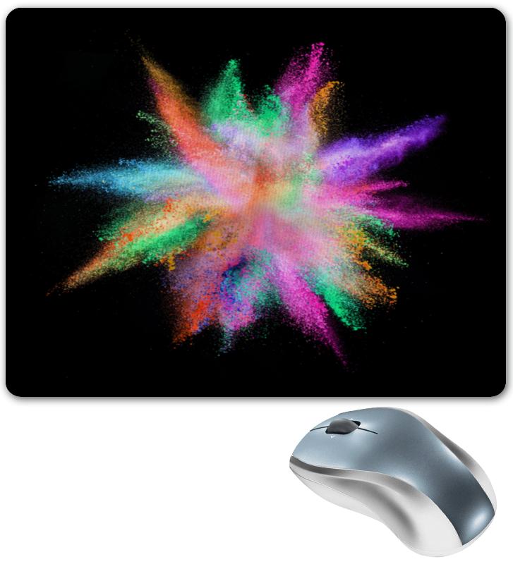 Коврик для мышки Printio Взрыв красок коврик для мышки printio полосы красок