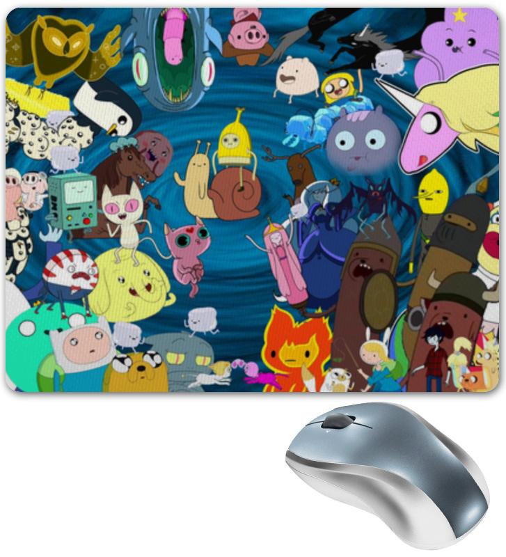 Коврик для мышки Printio Время приключений random cartoon ceramic tile decal 1pc