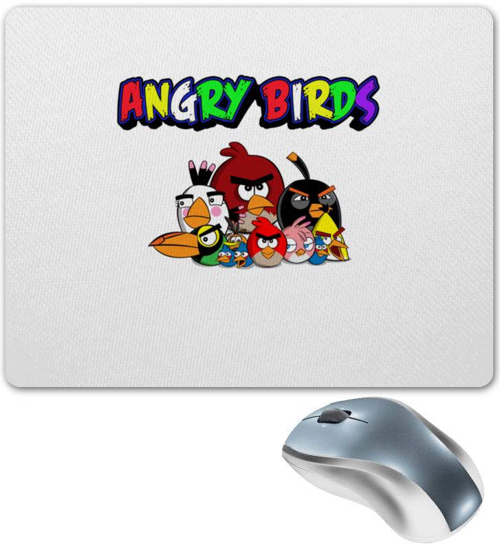 Коврик для мышки Printio Angry birds angry birds movie фруктовое драже с игрушкой 20 г
