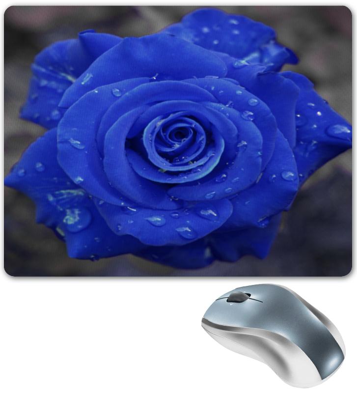 Коврик для мышки Printio Синяя роза коврик для мышки сердце printio чайная роза