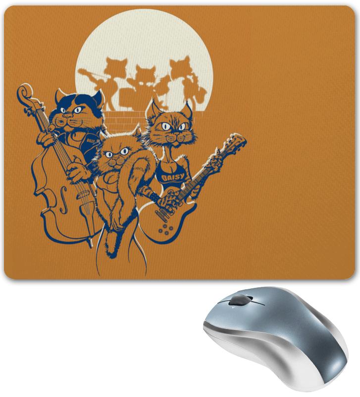 Коврик для мышки Printio Кошачий концерт
