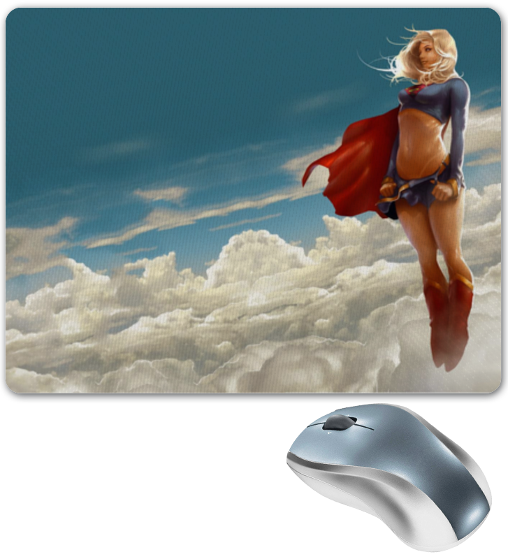 Коврик для мышки Printio Supergirl блокнот printio supergirl