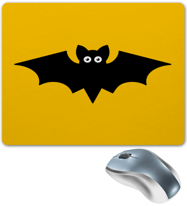 Коврик для мышки Printio Летучая мышь маска карнавальная для взрослых летучая мышь