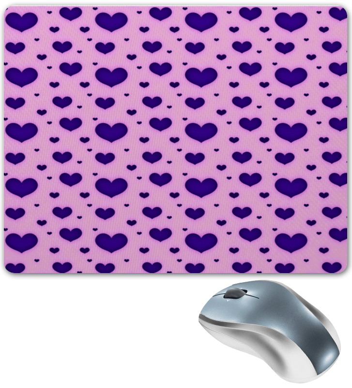 Коврик для мышки Printio Синее сердце коврик для мышки сердце printio дудлы