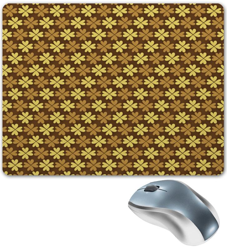 Коврик для мышки Printio Листы клевера коврик для мышки круглый printio узорные листы